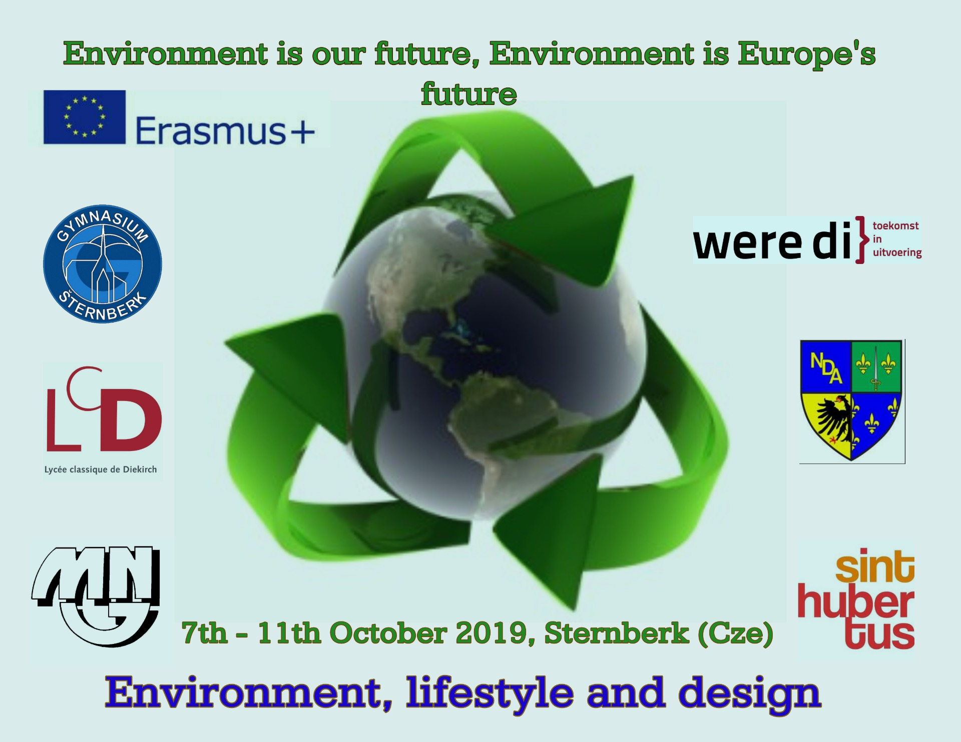 Environment is our future, Environment is Europe's future - Obrázek 1